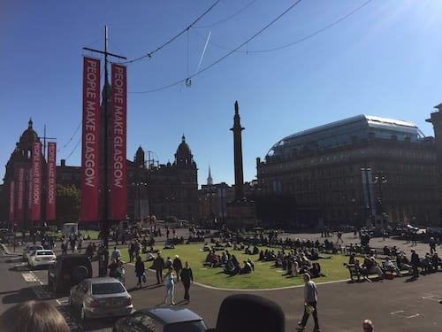 Glasgow foodie explorers food travel blog Trading_house_Glasgow_George_Square