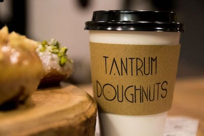 Tantrum Doughnuts to open at 35 Old Dumbarton Road on Thursday 17th December.