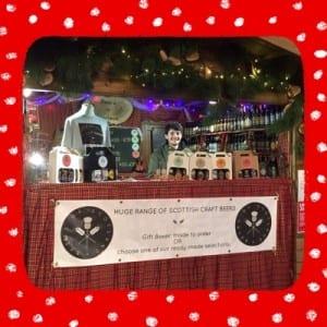 beers around scotland glasgow christmas market