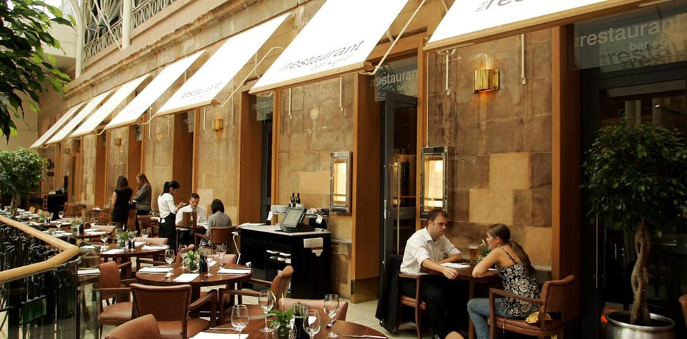 the individual group restaurant Glasgow princes square