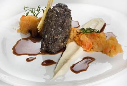 gleneagles alan gibb haggis starter burns night recipe