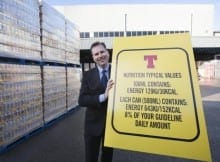 Tennents Lager to display calories on cans