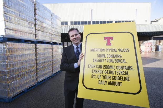 tennents lager calories