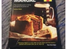 Book Review: Men's Pie Manual by Haynes