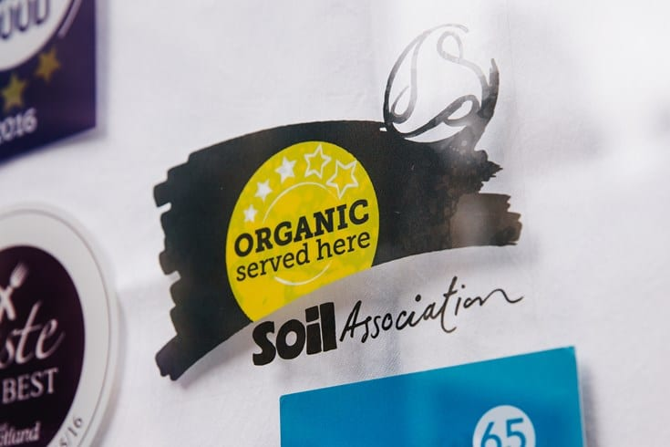 Soil association launches new organic served here award for Soil uk tour 2016