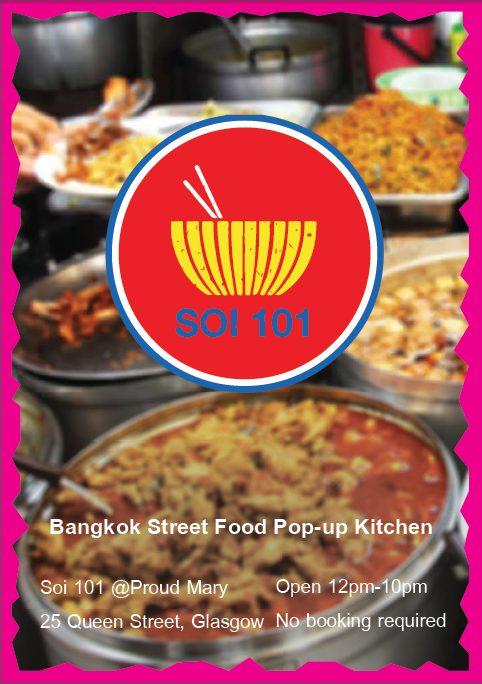 Proud Mary Bangkok pop up Glasgow foodie explorers