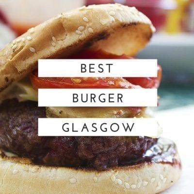 foodie explorers best burger glasgow