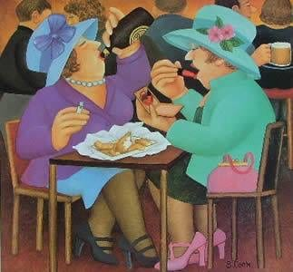 red onion ladies who luncheon glasgow restaurant
