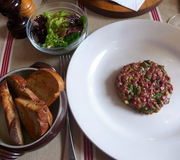 lescargot bleu edinburgh steak tartare 2