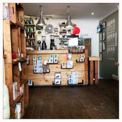 habitat cafe aberfeldy inside