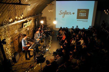 Kopparberg music Glasgow sofar sounds