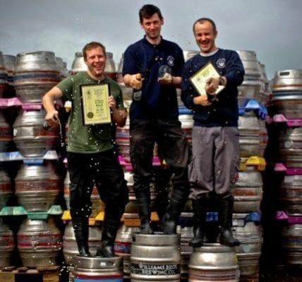Williams bros gbbf great British beer festival winners London 2016