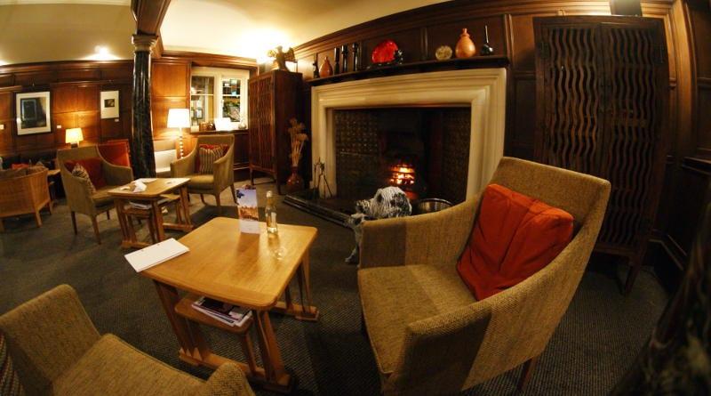 Jesmond Dene House hotel - billiards room