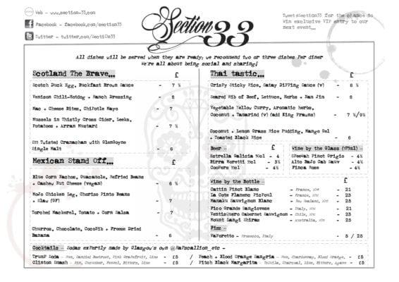Section 33 Nov 2016 menu panopticon