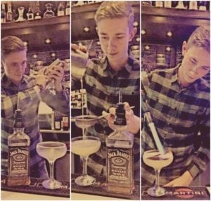Jack daniels Tennessee calling competition cocktails glasgow Boudoir
