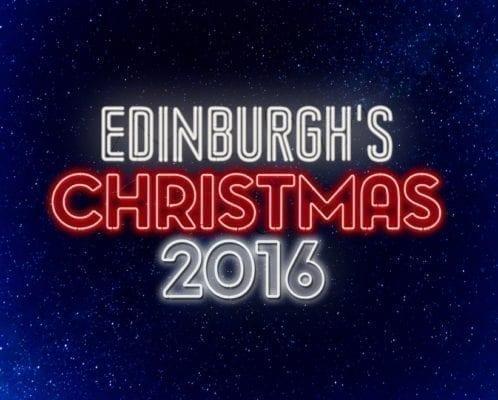 edinburgh christmas