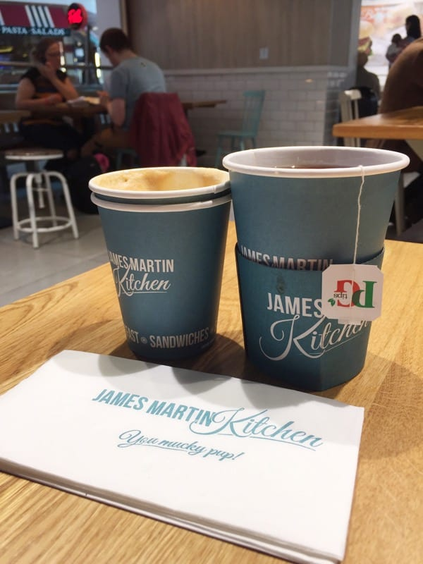 Food: James Martin Kitchen, Glasgow Airport