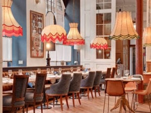 Iberica - seating in the restaurant