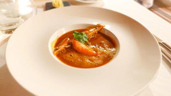 Jesmond Dene House Hotel - Lobster bisque