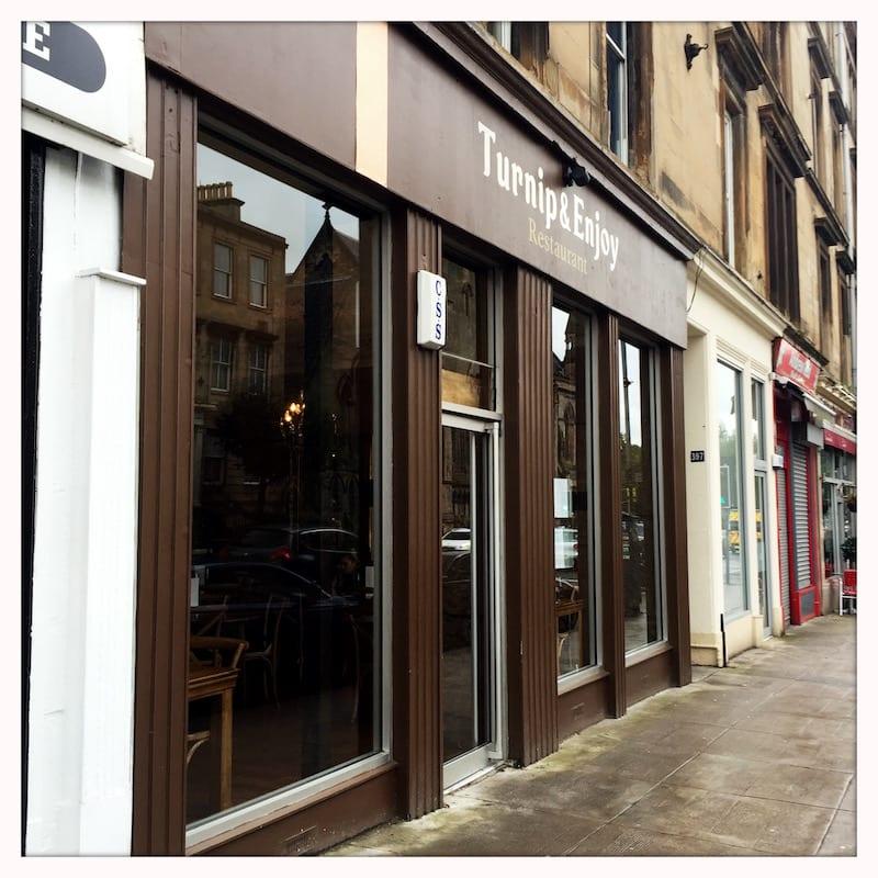 Food review: Turnip & Enjoy, Gt Western Road, Glasgow *CLOSED*