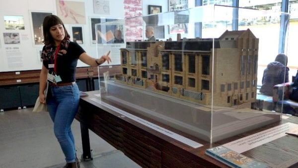 Mackintosh GSA tour - model building