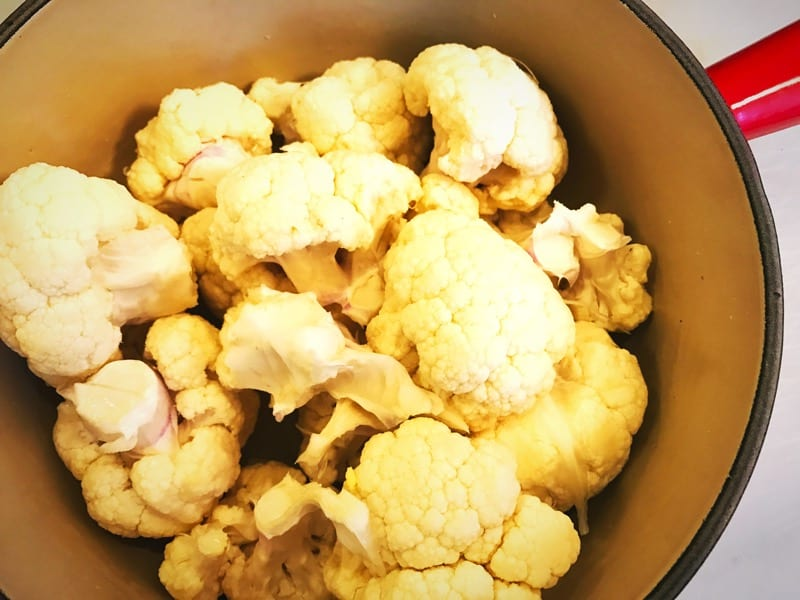 Recipe: Creamed Cauliflower
