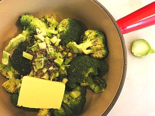 Recipe creamed brocolli