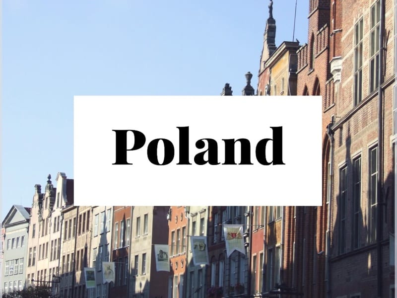 Poland travel glasgow foodie explorers bloggers