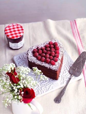 Bonne maman Valentine's cake