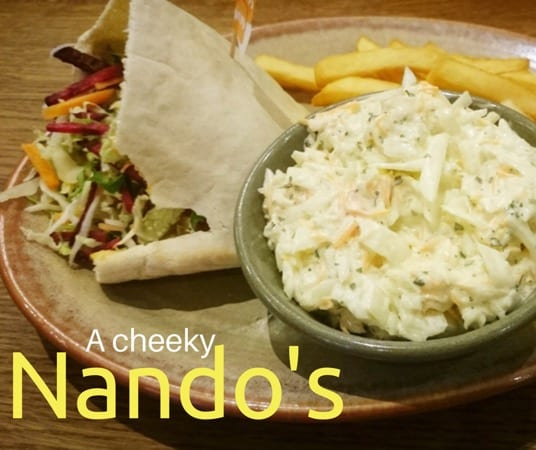 Food Review: Nando's, Silverburn, Glasgow