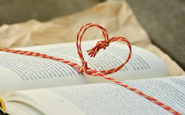 heart book valentine
