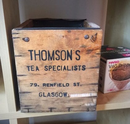 Behind the scenes with Thomson's Coffee