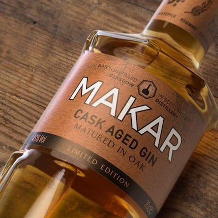 Drink: Oak Aged Makar Gin wins Silver