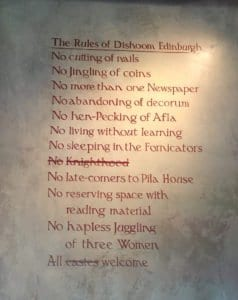 dishoom edinburgh breakfast rules