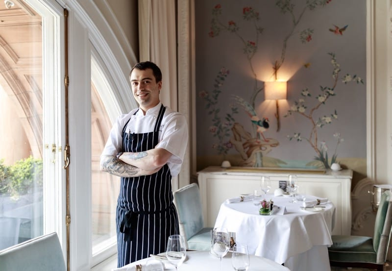 New Head Chef at The Pompadour by Galvin