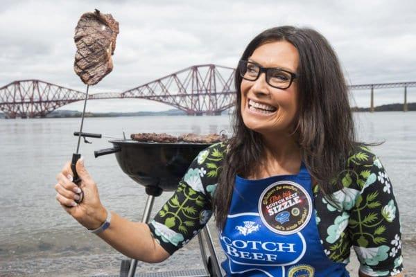 Rain or Shine Judith Launches BBQ Time