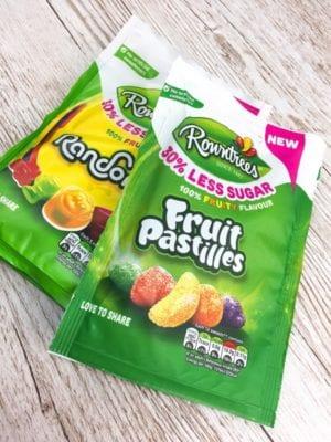 Rowantree Fruit Pastille Randoms 30% less sugar sweets review