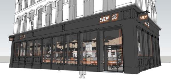 YO! Glasgow central sushi and street food