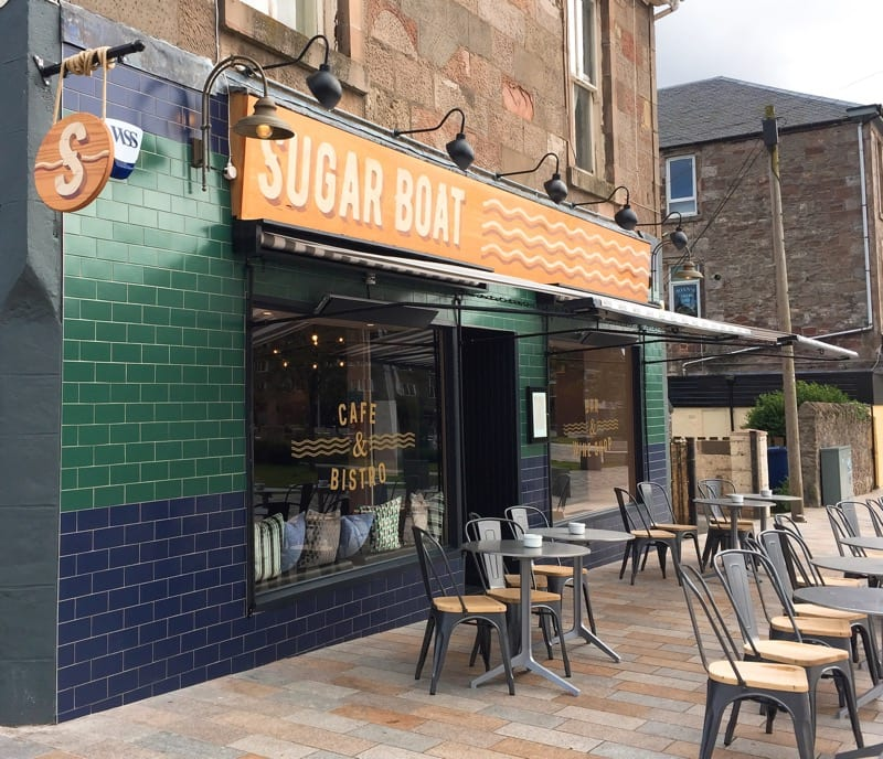 Scotrail glasgow Days Out Sugar Boat restaurant of the year