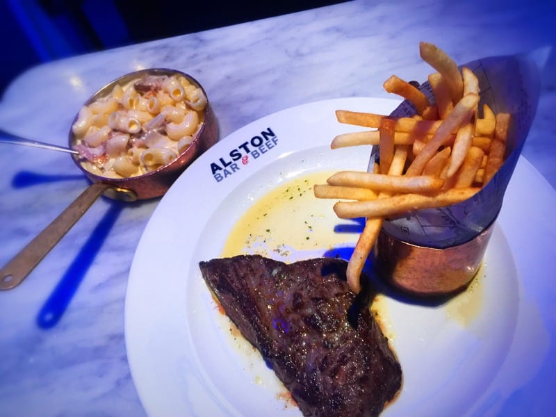 Food Review: Alston Bar & Beef set menu, Glasgow
