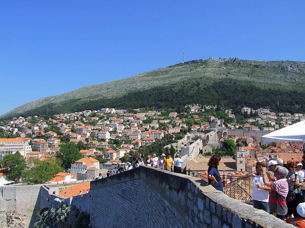 Travel: Visiting the city walls of Dubrovnik