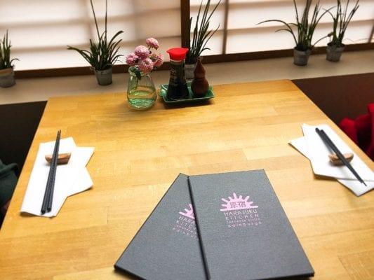harajuku kitchen menus