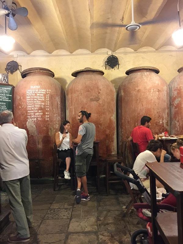 Casa Morales wine vats, Seville