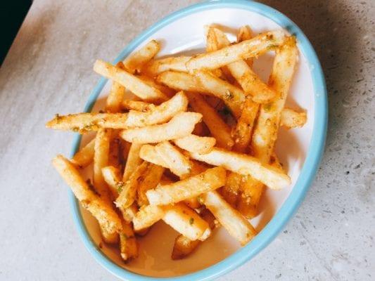 Furikake fries Yo! Happy hour