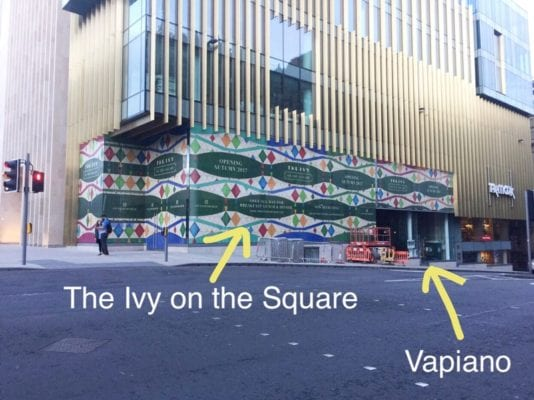 The Ivy on the Square Vapiano