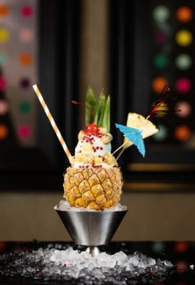 Pina colada malmaison limited edition ice cream