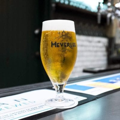Heverlee beer Edinburgh arches the Pitt