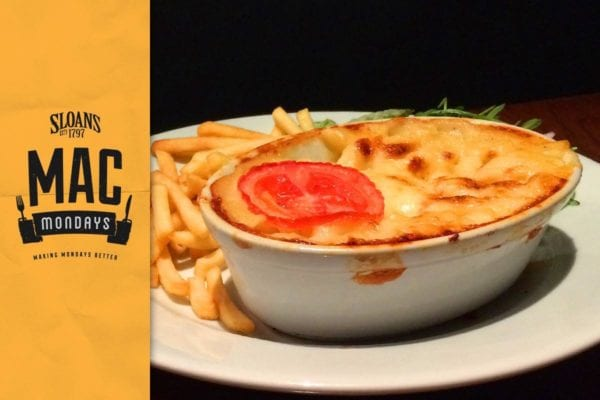 Sloan's mac n cheese