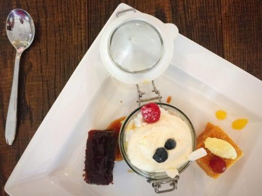Hilton garden city inn glasgow ReCESS restaurant