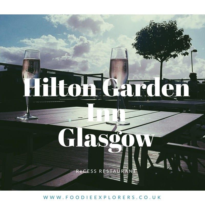 Hilton Garden Inn's new ReCESS restaurant